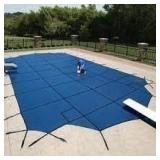 Arctic Armor Standard Mesh Pool Safety Cover-Blue