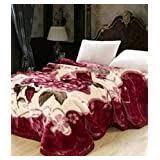 Monte Carlo Mink Blanket & Pillow Set-Double