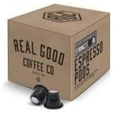 Real Good Coffee Recyclable Espresso Pods