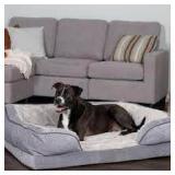 Francois Velvet Waves Perfect Comfort Pet Bed