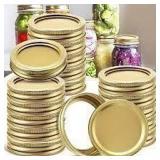 Regular Mouth Mason Jar Storage Caps - 24 Count
