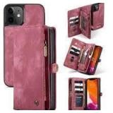 Case Me Wallet and Phone Holder - Red
