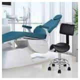 Adjustable Saddle Salon Rolling Massage Chair