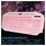 Magegee GK710 Keyboard Pink