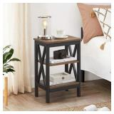 Rustic Night Stand With Drawer