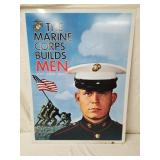 1967 Marine Corps Recruitment Sign