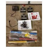 RC Controls & Decals 1 Lot