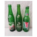 Vintage Mountain Dew Bottles