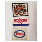 Esso & Exxon Patches