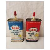 Esso Handy Oil Cans