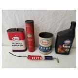 Esso Oil Cans 1 Lot