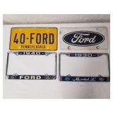 Ford License Plates & Frames