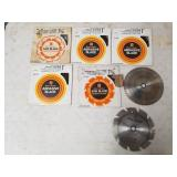 Saw Blades & Abrasive Blades 7 and 7 & 1/4""