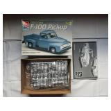 1953 Ford F-100 Pickup Model Unbuilt