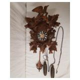 "Cuckoo Clock Germany 14"" Wide"