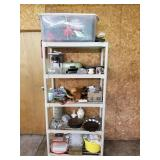 Shelf w/ Contents 1 Lot