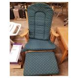 Rocking Chair w/ Ottoman