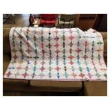 2 Vintage Quilts 1 Dated 1958