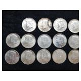 1964 Kennedy Half Dollars 14pcs
