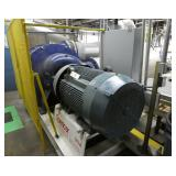 Spencer Power Mizer Model C646 Cast 4-Stage 250 HP Centrifugal Blower With Intake Silencer