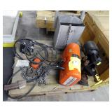 CM Model R2 2 Ton Chain Hoist With Motorized Trolley And Control Pendant