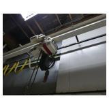 Coffing 2-Ton Overhead Hoist System