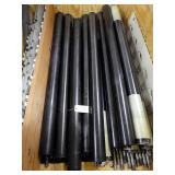 "64"" x 4.125"" Diameter Carbon Fiber Idler Rolls - Shafts and Supports"