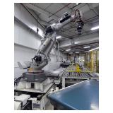 Nutech Engineering/Motoman Fully Automatic Robotic Roll Pick And Place System