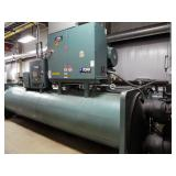 2012 York 650 Ton MAXE Water-Cooled Variable Speed Drive Centrifugal Chiller