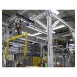 Coffing 1 Ton Overhead Hoist System