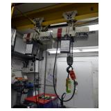 Two (2) 3-Ton Coffing Chain Hoists