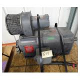 30 HP Reliance DC Motor