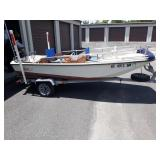 Boston Whaler 87 w/trailer and title