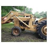 Ford tractor loader