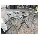(4) Pairs of Pipe Stands