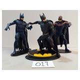 3 Kenner Batman & Robin Figures