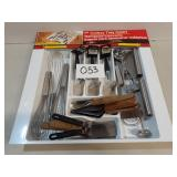 21 Various Kitchen Utensils in a Cutlery Tray