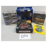 27 PlayStation 2 Games w/Accessories