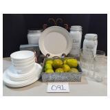 White Classic Style Dinnerware & Accessories