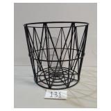 Heavy Metal Basket or Side Table