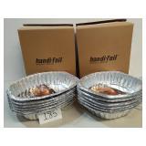 12 Handi-Foil Giant Aluminum Roaster w/Handles
