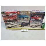 6 Model Car Kits
