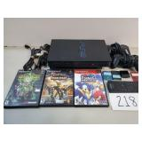 PlayStation 2 Game System + 3 Games
