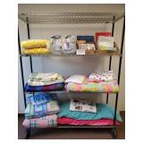 Large Lot of Twin Sheets, Blankets & Comforters