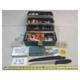 Full Fishing Tackle Box + Extras