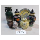Beautifully Painted Vases and Urns