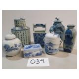 Painted Ceramic Vases and Urns