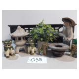 Asian Garden Themed Decor