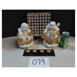 Prosperity Buddhas Collectable Lot