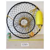 """Net Crab Trap 30"""" Round (No Shipping)"""